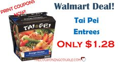 PRINT a hot new coupon to save $1.00 on a Tai Pei Single Serve Entree! Use at your favorite store or grab a cheap deal at Walmart and pay only $1.28!  Click the link below to get all of the details ► http://www.thecouponingcouple.com/cheap-tai-pei-single-serve-entree-walmart/  #Coupons #Couponing #CouponCommunity  Visit us at http://www.thecouponingcouple.com for more great posts!