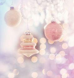 ♦pink Christmas bokeh♦
