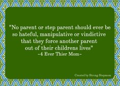 """Parental alienation involves the """"programming"""" of a child by one parent to denigrate the other """"targeted"""" parent, in an effort to undermine and interfere with the child's relationship with that parent, and is often a sign of a parent's inability to separate from the couple conflict and focus on the needs of the child. Such denigration results in the child's emotional rejection of the targeted parent, and the loss of a capable and loving parent from the life of the child."""