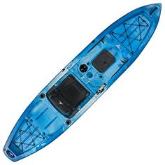 Ascend FS12T Sit-On-Top Angler Kayak - Blue 40cacf0f01aeb