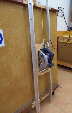 Eigenbau vertikale Plattensäge Materialwagen (Woodworking Tools) #woodworkingtools