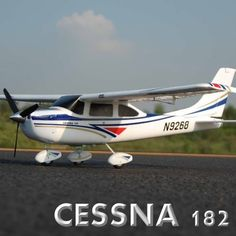 Images for Cessna 182 Airplane ~ Radio Control ~ RC Electric ~ by Redcat Racing