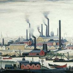 Laurence Stephen Lowry. - i went to see the lowry exhibition in the tate britain, it was great *-*
