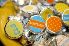 You Are My Sunshine- Hershey Kiss Labels- print your own. $7.00, via Etsy.