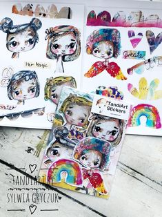 Mixed Media Faces, Deer Photos, Handmade Wall Hanging, Abstract Portrait, Box Art, Paper Size, Planner Stickers, Fairy, Paper Crafts