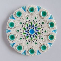 dot day art projects Mairi Stone & Georgie too by mairistone on Etsy Porcelain Ceramics, Ceramic Art, Fine Porcelain, Clay Crafts, Arts And Crafts, Dot Day, Dot Art Painting, Clay Tiles, Paperclay