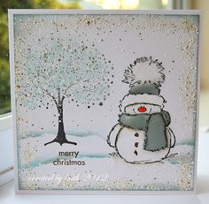 Hi Everyone Welcome to Penny Black Saturday I'm sure just like us you can hardly believe it's December already and that Christmas is jus. Stamped Christmas Cards, Homemade Christmas Cards, Christmas Cards To Make, Xmas Cards, Christmas Art, Homemade Cards, Handmade Christmas, Holiday Cards, Primitive Christmas