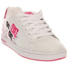 Fab find NEW DC Shoes DC Pixie Dizzy SCR Womens Skate Shoes #DCShoes #White #Skateboarding