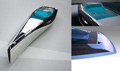 lightweight carbon fiber, motoryacht design, daniel hahn, motor yacht, primary materials, professional designer, personal space, eden, honeymoon, shape, futurism, futuristic design, futuristic watercraft