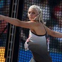 Women's discus throw qualifier at the IAAF World Championships