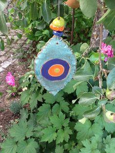 Windspiele - Windspiel,Keramik, Blickfang, Deko - ein Designerstück von Bodenseekeramik bei DaWanda Designer, Etsy, Wind Chimes, Deko
