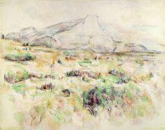 Paul Cézanne. Mont Sainte-Victoire