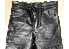 "Zony Inc Premium Leather Pants 26"" Waist 32"" Inseam $75.00"