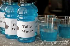 Toilet Water for the Pampered Puppy Shower | SimplyNotable.com