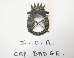 Irish Citizen army Cap Badge | Irish Volunteers.org