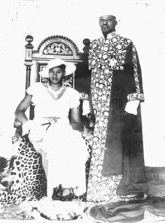 Princess Kezia Rukidi of Toro (1906-1998), laterThe Queen of Toro, wife of King George Rukidi III of Toro (1904-1965). As Batebe (Queen-Sister), she served as the king's chief advisor from 1965-1998. She was the mother of Princess Elizabeth of Toro. She later became known as the Queen-Mother Kezia Byanjeru Rukidi Abwooli.