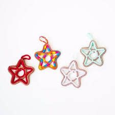 Image result for pine needle star ornament