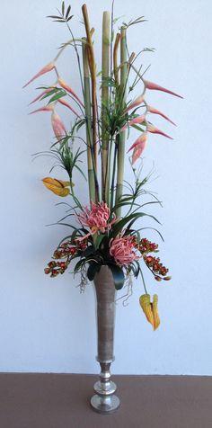 1000 images about ikebana bouquet de fleurs on for Bouquet exotique