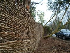 MickSticks - Wattle Fencing, Wattle Hurdles, Hedgelaying, Cleft Chestnut Gate Hurdles, Cleft Oak Gates, Coppicing