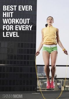 No matter your level of physical fitness, this is a great workout!