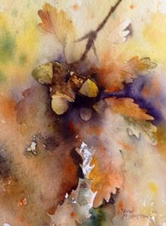 Rachel McNaughton - pure watercolours 'Autumn'