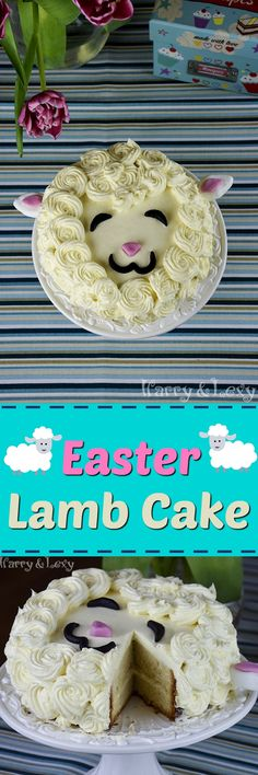 This, killing you with cuteness, make-ahead Easter Lamb Cake is super easy to prepare. We have used Swiss buttercream frosting and fondant for decoration.