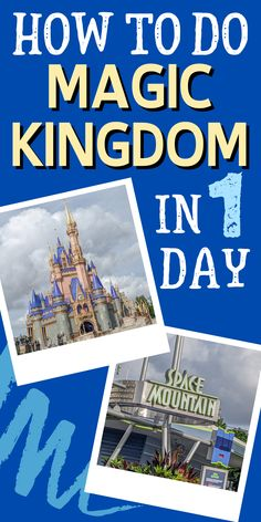 The PERFECT 1 Day Magic Kingdom Itinerary