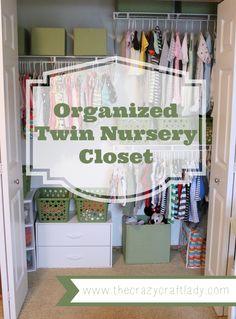 Preparing A Small Nursery For Twins