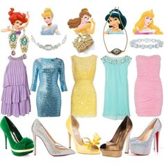 """Disney Princess Cocktail Hour"" by bjnichole on Polyvore"