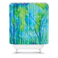 Rosie Brown Ocean Wonder Shower Curtain