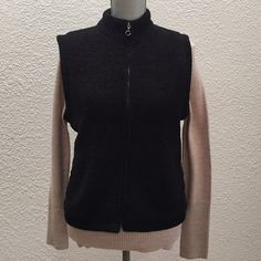 NWOT black super soft vest Black super soft, almost velvety vest. Quilted lined interior. New without tags, never worn. Colorado Clothing Jackets & Coats