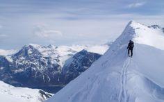 Alpin skitur