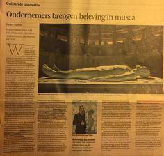 Kansen in innovatieve beleving voor museumtentoonstellingen. FD 06/12/14