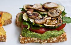 High Protein & Oil-Free Basil Pesto