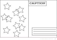 Project Life sketch uses a 3x4 photo and a scattering of stars and comes from Allison Waken's 12 spread