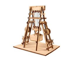 Amazon.com: DESKTOP Wooden Model Kit Ballista: Toys & Games