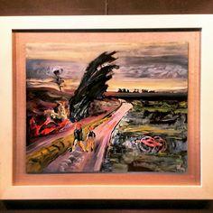Wiatr. 2013 olej na płycie  Alfons Kułakowski - Wernisaż wystawy - 13.05.2016 #encek #nowahuta #kułakowski #art #exhibition #colorful #impresjonizm #painting #artist #impressionism #kulturaKRK