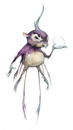 Fantasy painting - Brian Froud
