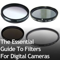 Filters for digital cameras are really important, but they're often overlooked… #DigitalCameras