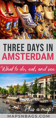 Ultimate 3 Days In Amsterdam Itinerary, TRAVEL, Your best guide to spend 3 days in Amsterdam! This complete Amsterdam itinerary has all the info you need to visit the Dutch capital, such as where to. Amsterdam What To Do, 3 Days In Amsterdam, Amsterdam Guide, Amsterdam Map, Amsterdam Itinerary, Amsterdam Holland, Amsterdam Fashion, Visit Amsterdam, Europe Destinations