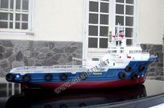 MODEL SHIP OFFSHORE SUPPORT VESSEL (OSV)