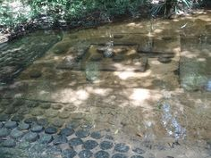 Lingas at Kbal Spean in Angkor Siem Reap Cambodia  Date: 11th to 13th century, Reign: Rajendravarman II, Jayavarman V, Religion: Hindu, Buddhist  Read more: http://www.globaltravelmate.com/asia/cambodia/angkor/angkor-temples/700-siem-reap-kbal-spean.html#ixzz2XbPDKcWr