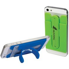 Shop ePromos.com for custom wallets and cell phone stands. These 2-n-1 customized wallets also double as a phone stand for hands free viewing anywhere!