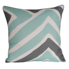 I pinned this Tao Pillow in Harbor Gray from the Thro event at Joss and Main!
