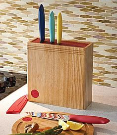 Fiesta Wood Bristle Block