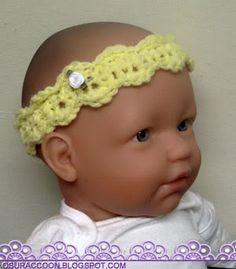 nothing's creative anymore: Easy Newborn Headband Crochet Pattern