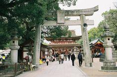 Dazaifu Tenmangu in Fukuoka, Japan