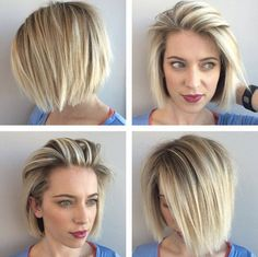 Straight bob by Beth