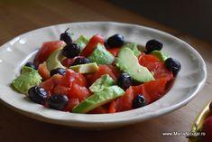 Best Salad Recipes, Mai, Fruit Salad, Tofu, Avocado, Health Fitness, Diet, Salads, Fruit Salads