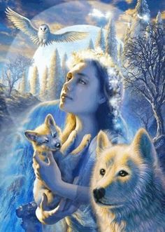 THE  SPIRITS OF BIRTH AND SPIRITS OF THE WIND AND EARTH)